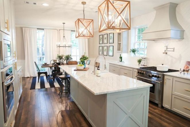 33 The True Meaning Of Farmhouse Kitchen Design Joanna Gaines Fixer