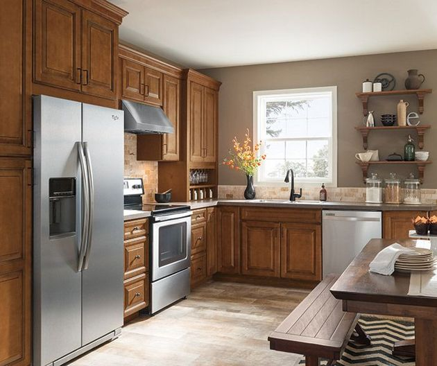 Diy Glazing Kitchen Cabinets: +20 The Most Popular Gray Glazed Kitchen Cabinets Diy 14