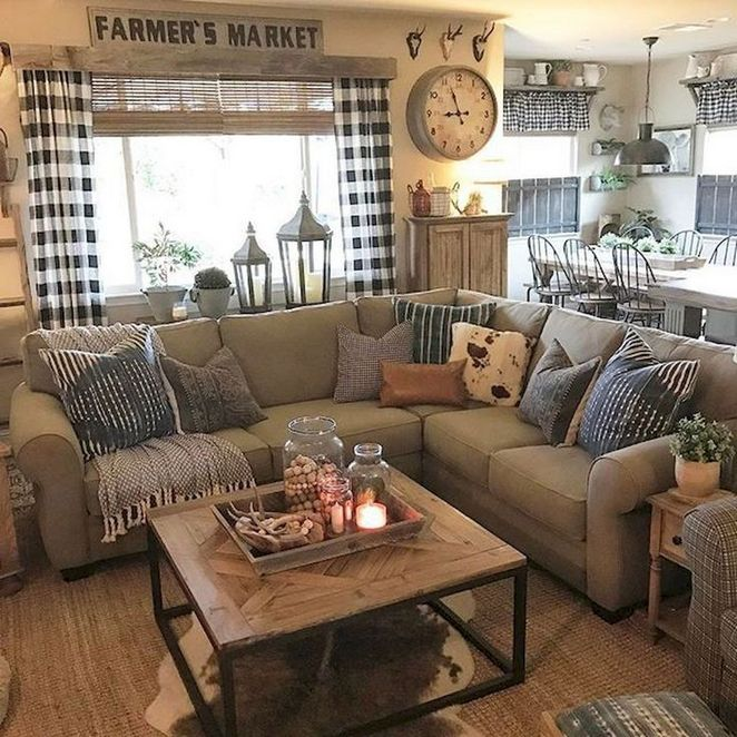Modern Farmhouse Decor Living Room