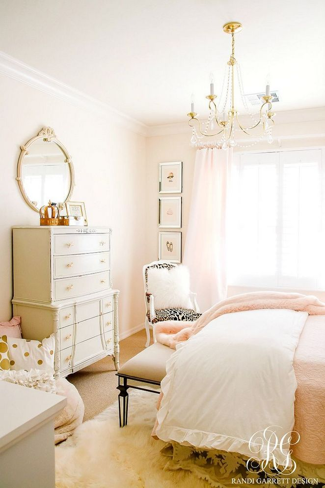 34+ Up In Arms About Blush Pink Bedrooms Walls Girly 4 - apikhome.com