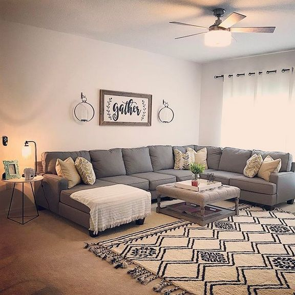 Living Room Above Couch Easy Diy
